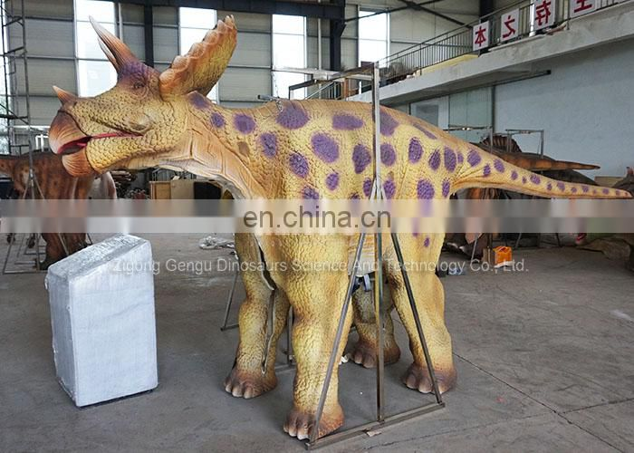 Artificial Dinosaur Costume Come From Gengu Factory