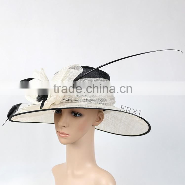 4e50f25f682 ... New Woman Church Kentucky Derby Wedding Party Sinamay Hats south africa