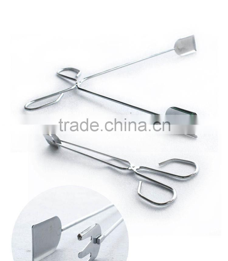 Barbecue BBQ stainless steel food clip