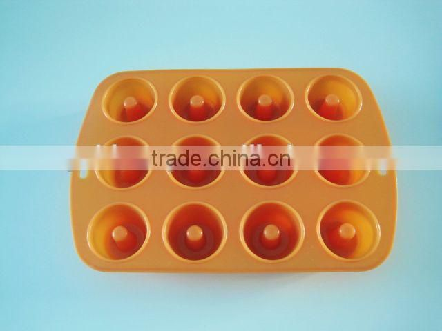 Apple shaped DIY silicone cake mold for promotion gifts
