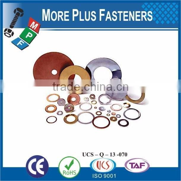 Taiwan Stainless Steel 18-8 Copper Brass Aluminum Brass Pin Lock Washer Square Lock Washer Electrolux Washer