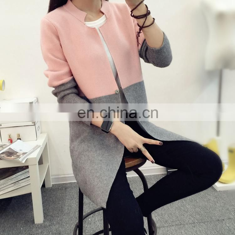 Long Cardigan Female 2017 Autumn Winter Women Long Sleeve Cardigan Sweater Knitted Cardigans For Women Jacket Tops