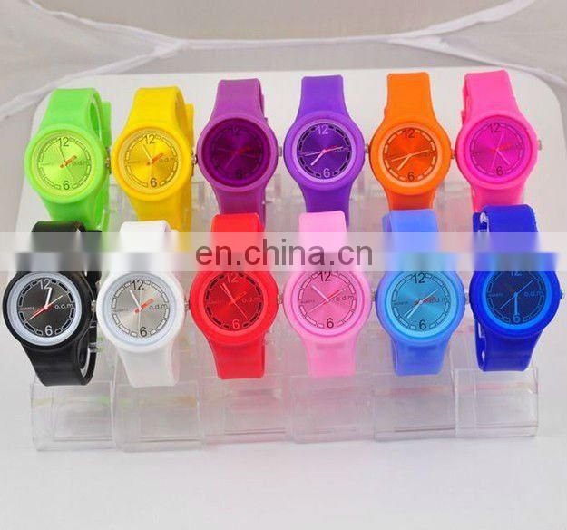 Hotsale LED Light ODM Jelly Silicone Rubber Wistband Watch