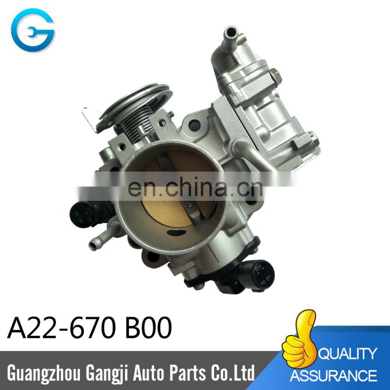 High Quality Throttle Body Assembly TPS A22-670B00 for Hond a
