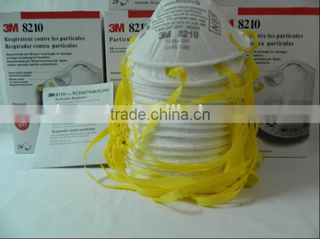 Face Respirator N95 8210 Mask Of 3m Dust