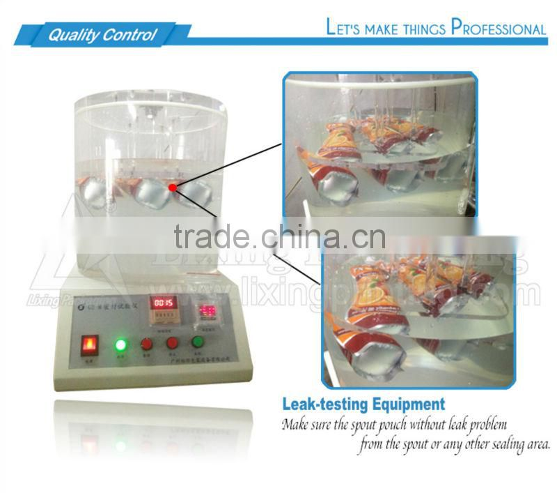 LIXING PACKAGING cookies bags flexible or soft packaging materials clear plastic bags for cookies packaging