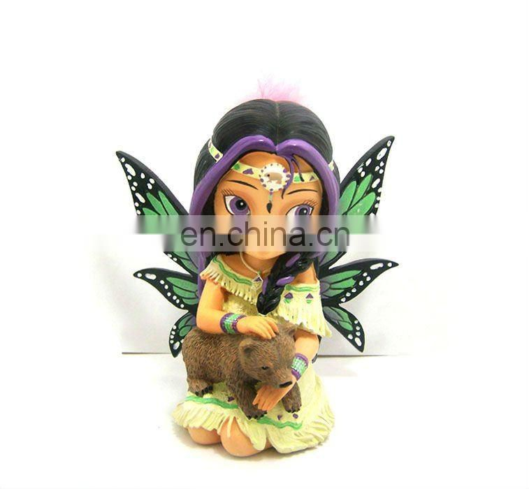 resin indian figurine for home decoration