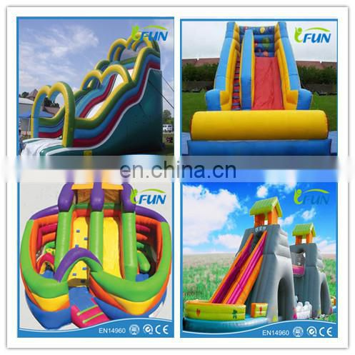 giant inflatable slide inflatable three lane slide for sale