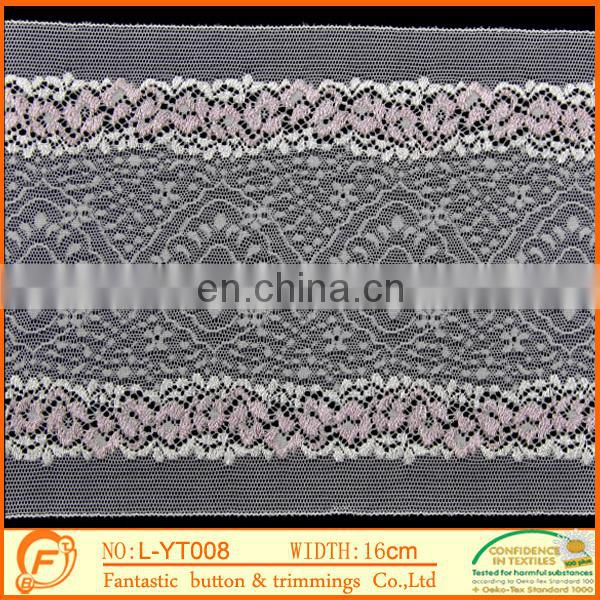 garment elastic lace fabric for sewing on wedding dressings
