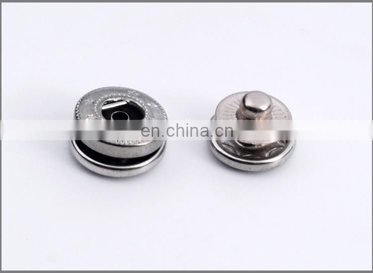 Four parts Metal Spring Snap Button BM10141