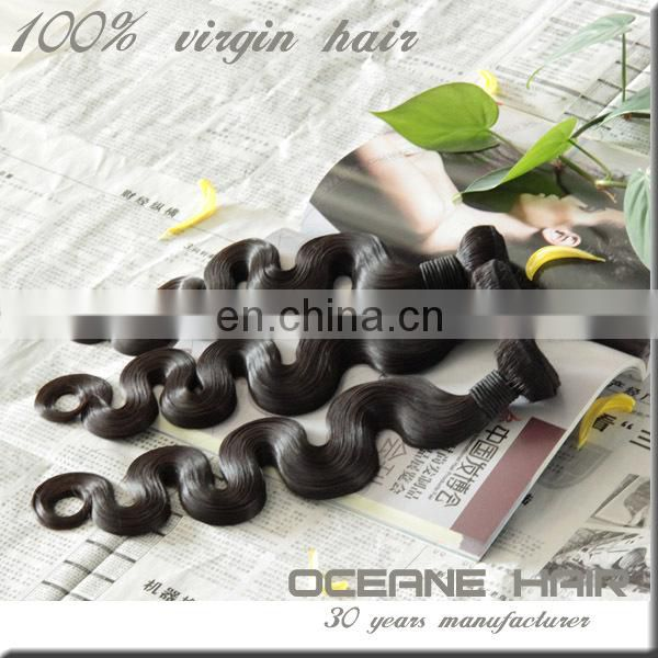 Free shipping sample support wholesale price fast shipping original brazilian human hair