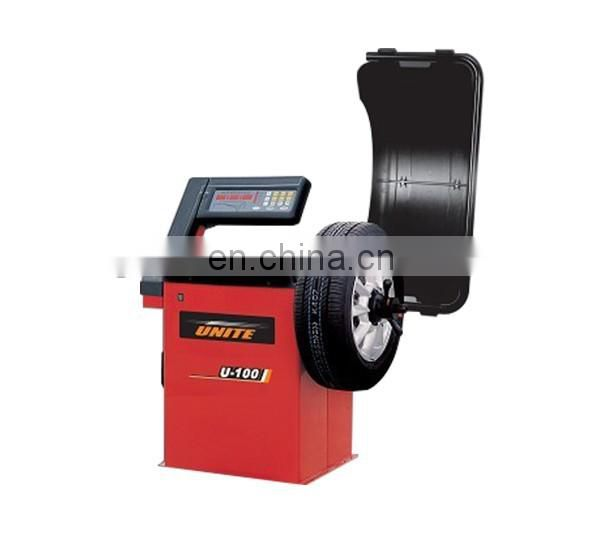 "On sellling high quality 10""-24"" wheel balancer machine for balancing car wheel"