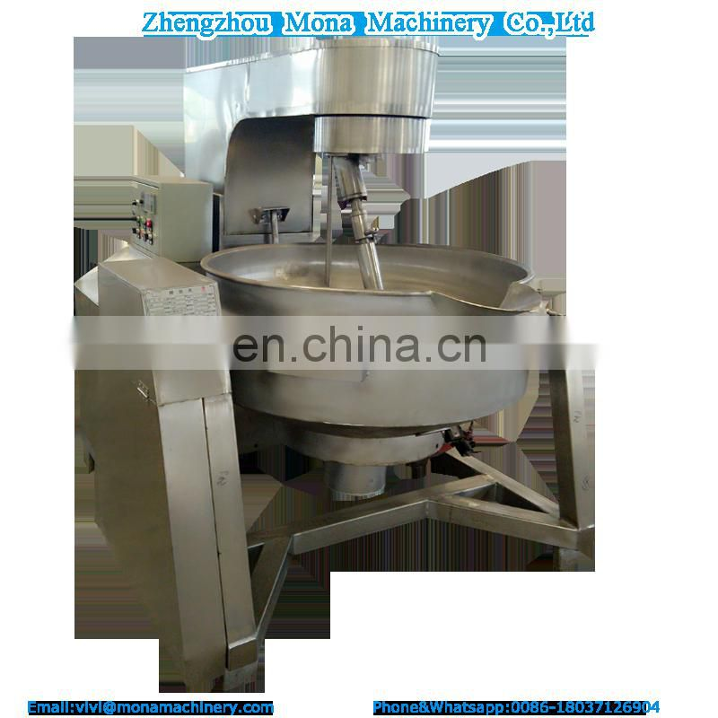 Automatic Planetary stirring jacketed kettle mixer_conduction oil planetary mixer