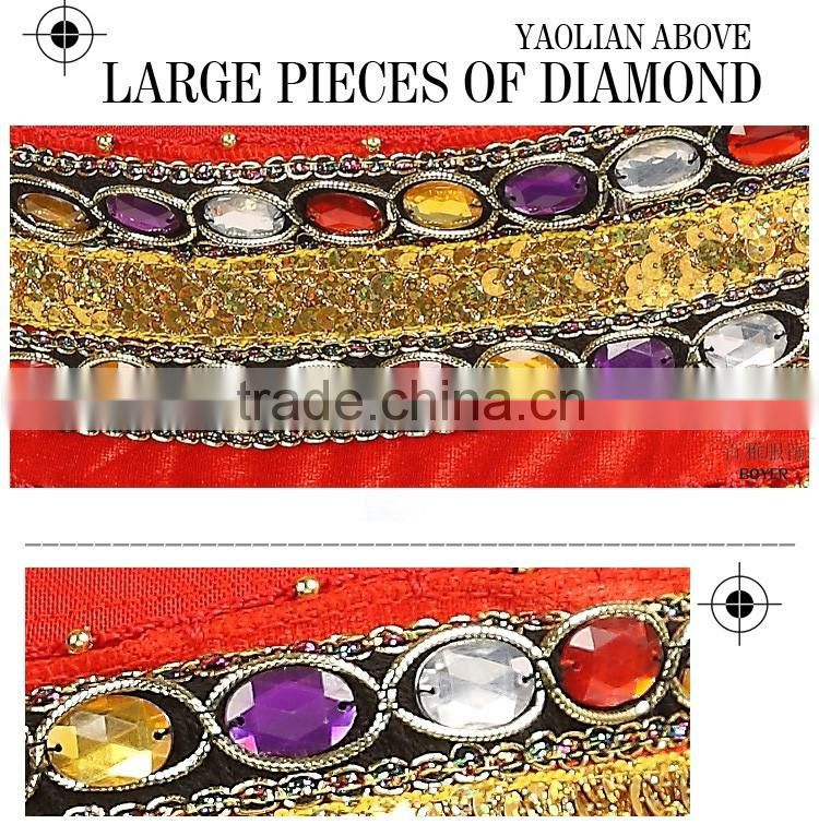2016 Women Belly Dance Dancing Hip Scarf Wrap Costumes Coins Belts Velvet 248 Coins Belt for Sale