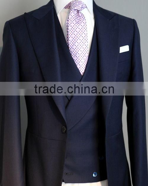 100% wool high quality slim fit bespoke suit made to measure tailor made suits