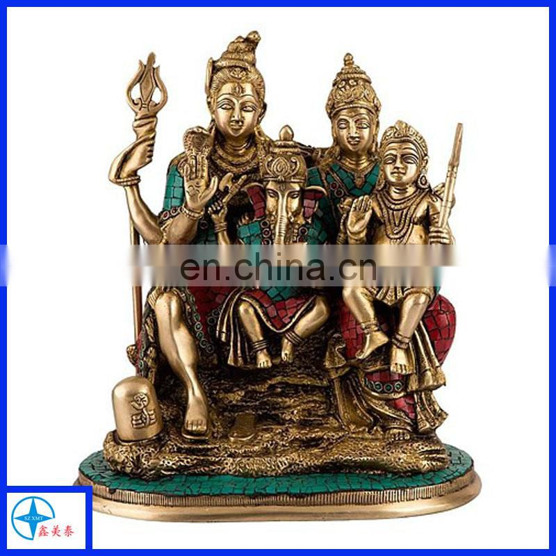 Handcrafted Hindu Sculpture Indian Fine Art Indian God Religious Crafts Home Decor