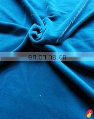 Teal Blue Micro Velvet Fabric