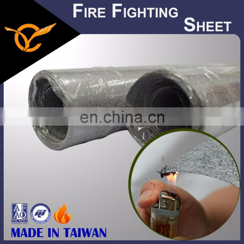 Certified Fire Fighting Harmless To Human Fireproof Paper