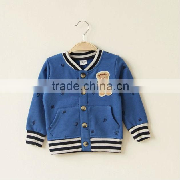 Best Selling Steipe Style Boys Autumn Cardigan