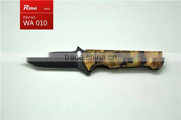 camping outdoor damascus knife blade blank