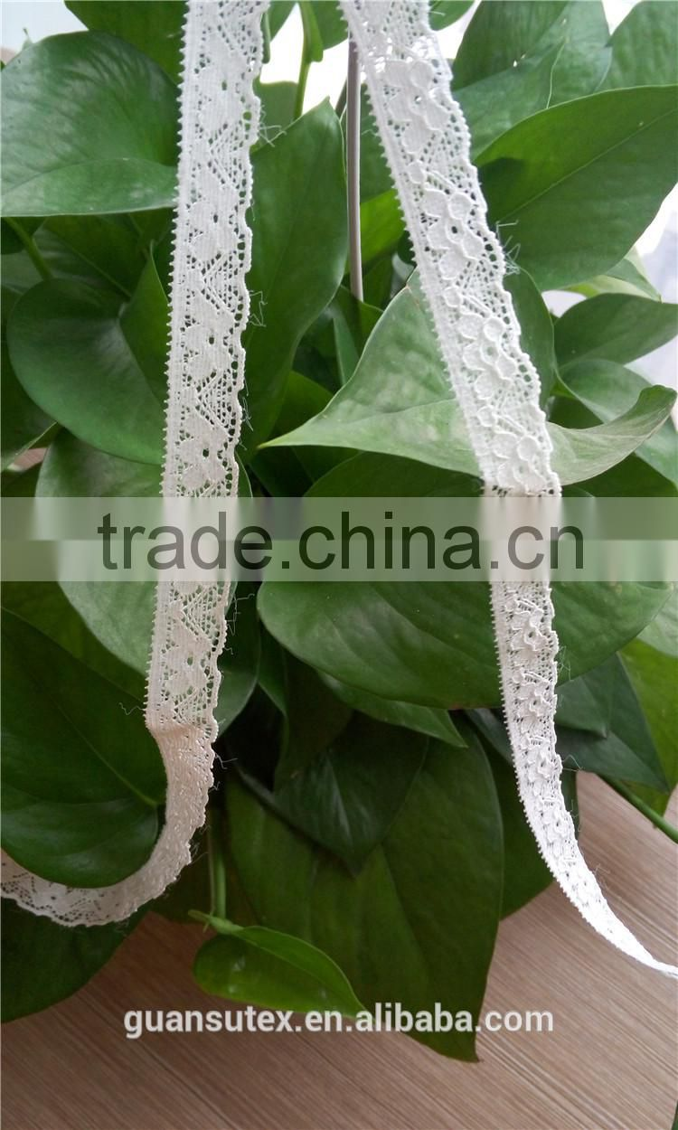 China Factory Wholesale Lace and Broder Cotton Nylon Lace Trimming For Dresses