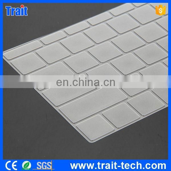 "Ultrathin 0.1mm TPU Keyboard Protective Film Cover for the New Macbook 12"" Retina,Keyboard Cover Silicon UK"