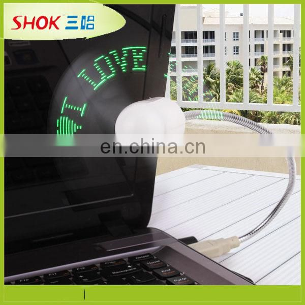 Promotion Customized Message Mini Led Fan