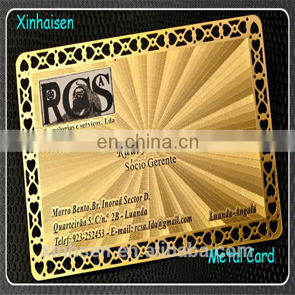 Cheap price anodized aluminium business cards with high class