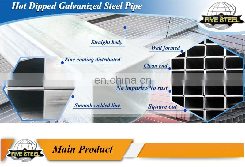 china pre-galvanized steel pipe manufacturers