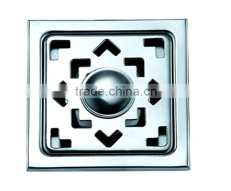 High quality stainless steel floor drain,satin polished/ mirror polished,100*100,B2212-1s