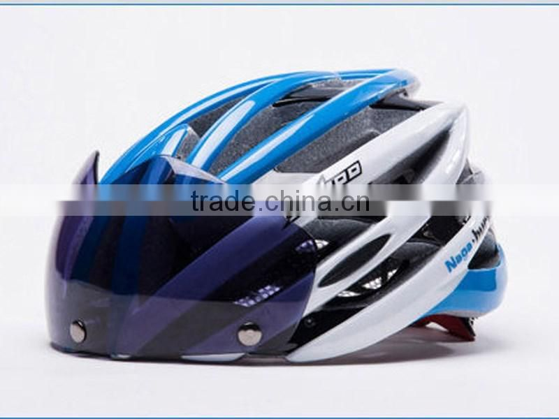 Shark cycling Helmets Integrally Molded With a Magnet Glasses Wholesale Goggles Helmet