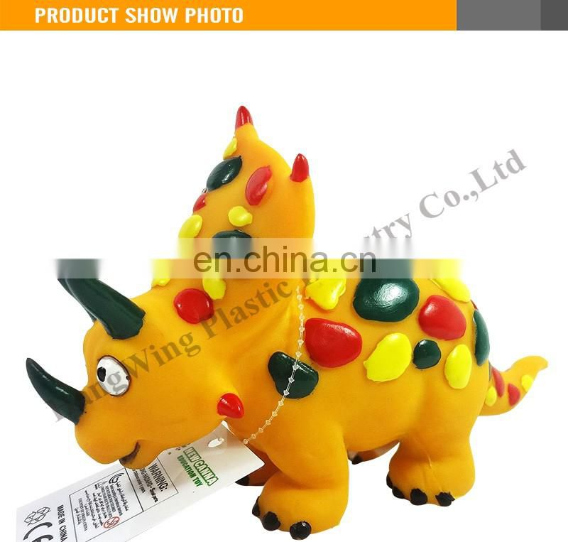 NEWS 2016 10 Inch Cartoon Triceratops Flexible Evade Glue Toy