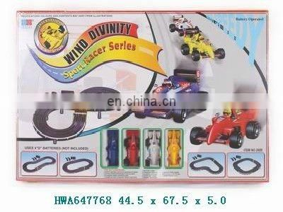 2012 new novelty super speed pull back railway sets toys for children