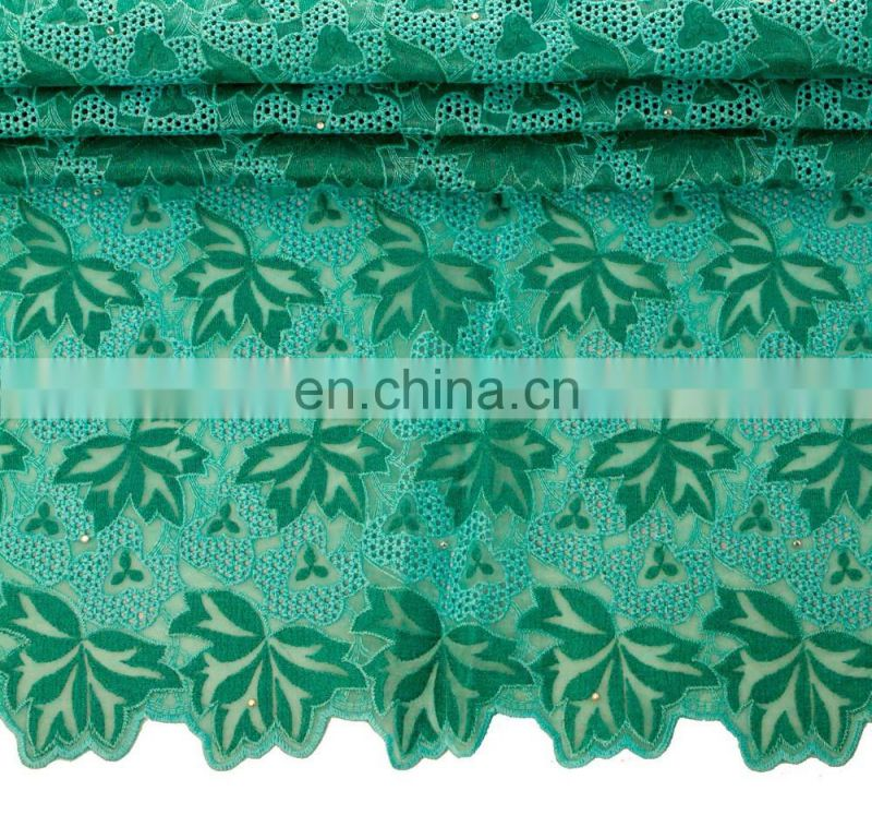 High Quality New Flower Deisgn Organza Lace With Sequin