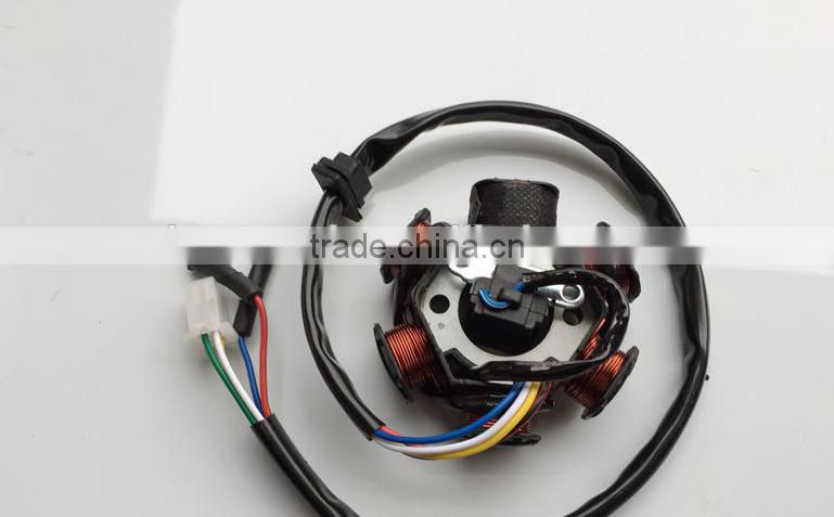 CG125 6 Magneto Coil Assy Scooter Stator and Rotor Engine Parts of