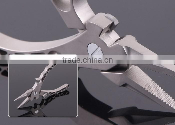 2016 New Aluminum Fishing Pliers 150g 18.5cm Wholesale Fishing Tackle