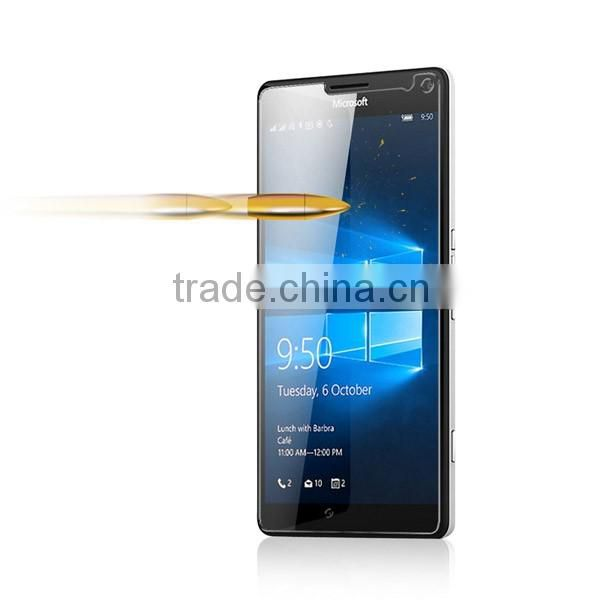 Shockproof wholesale best tempered glass screen protector for Lumia 950XL