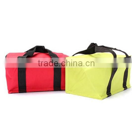 Thermal Cooler Lunch Box / portable ice cooler bag / picnic ice cooler box / camping can food bag