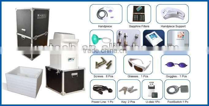 ISO 13485 certified shr + ipl beauty machine for painless&fast hair removal treatment