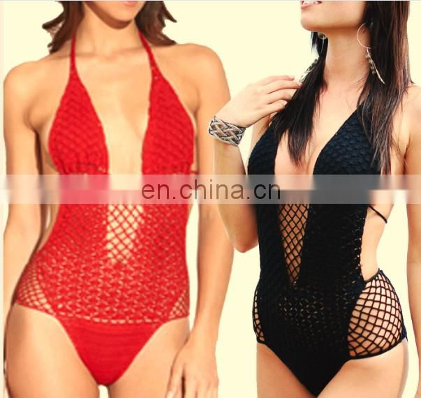 hand made knitted Crochet swimsuit