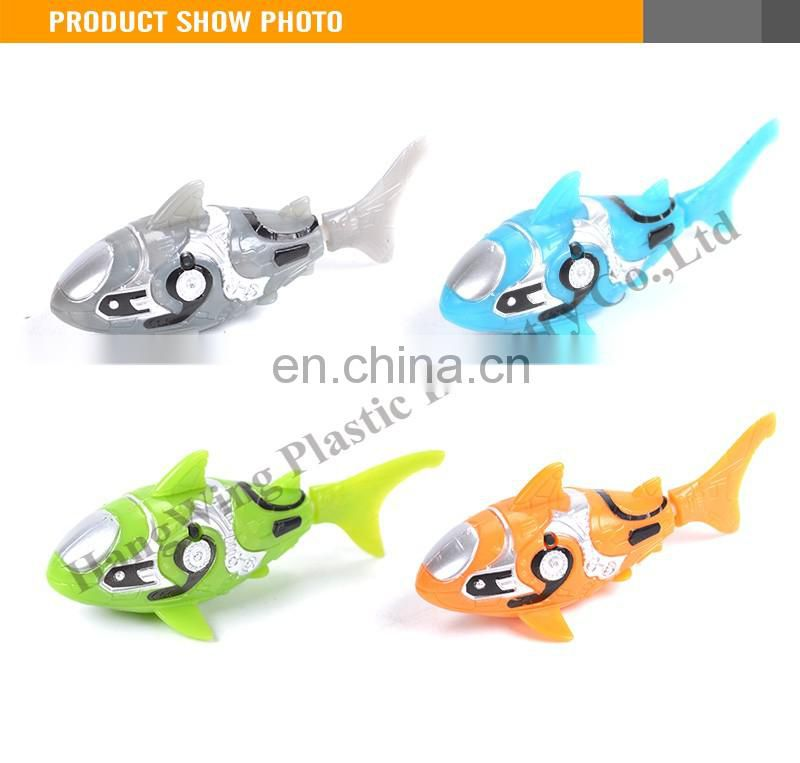 Electric Swimming Shark Robot Fish Baby Bath Toys