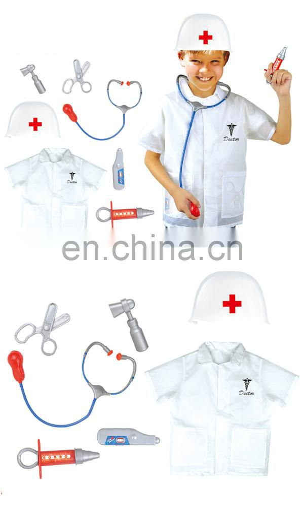 Shantou wholesale doctor cosplay suit party costume kids boys age 3-7