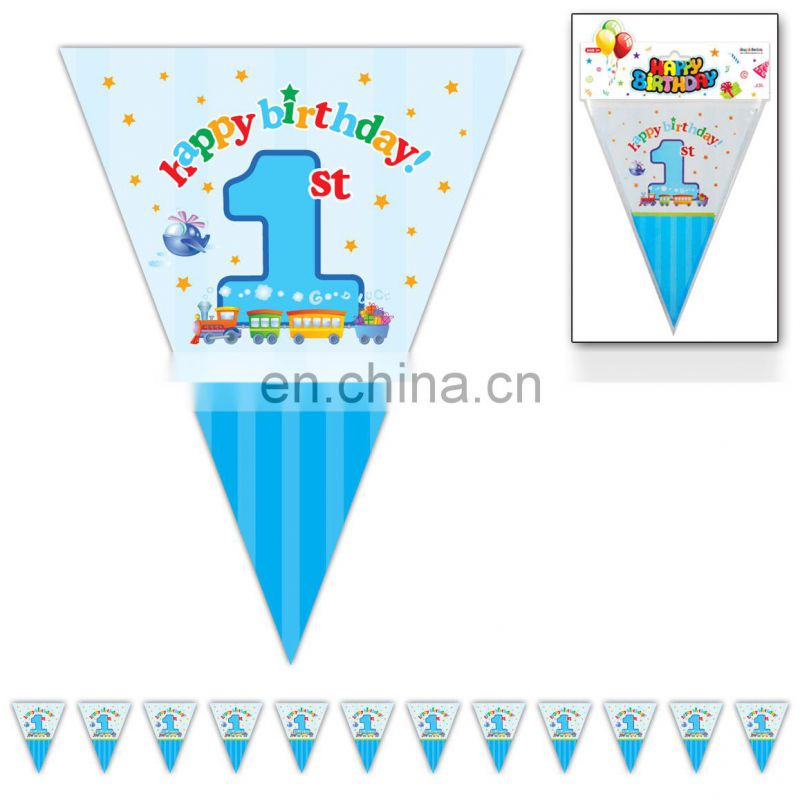 Decorative Triangle Flags New Party Paper World Cup 2014