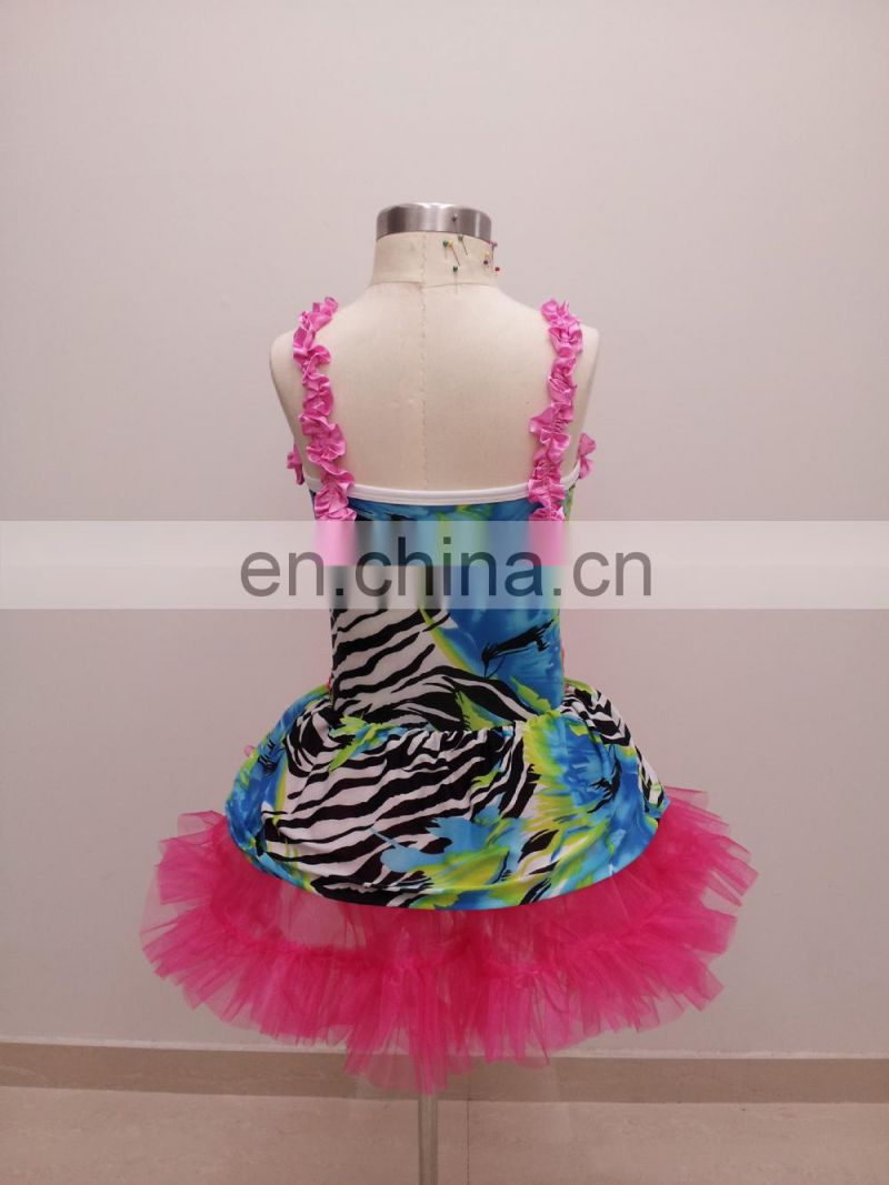 Party cute beauty sexy Children ballet dance dress ET-012