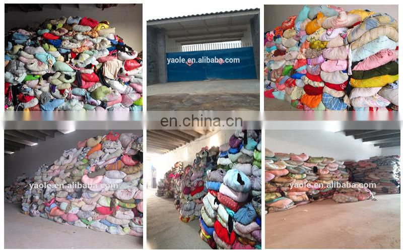 USED CLOTHING 100KG BALES & MIX RAG