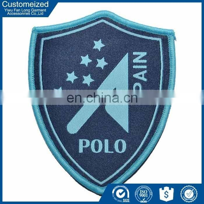 China facroty fashion design blazer pocket badge embroidered fancy
