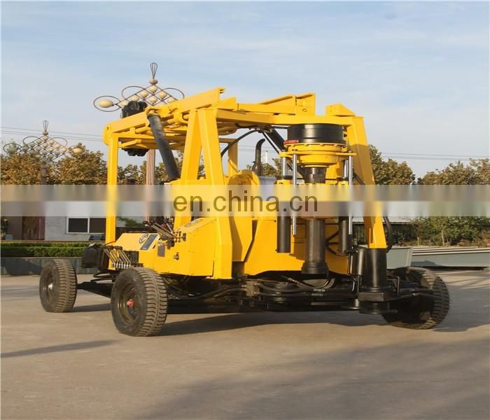600m depth full hydraulic XY-3 water well drilling rig large well drilling machine