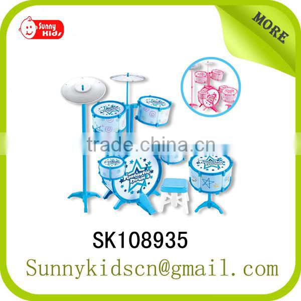 High quality drum set miniature drum toy