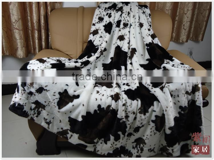 2015 new china products polar fleece coral fleece flannel fleece blanket Online Products raschel quality black throw blanket
