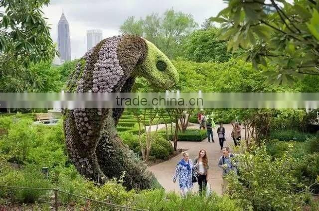 1.3m tall life size large top party artificial landscape uv resin plastic animal leaf alphabet letter statue E03 1103